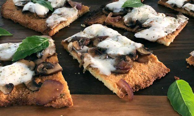 Grain Free Focaccia Pizza Crust