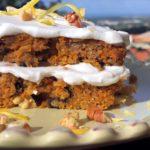 Carrot Nut & Rum Cake