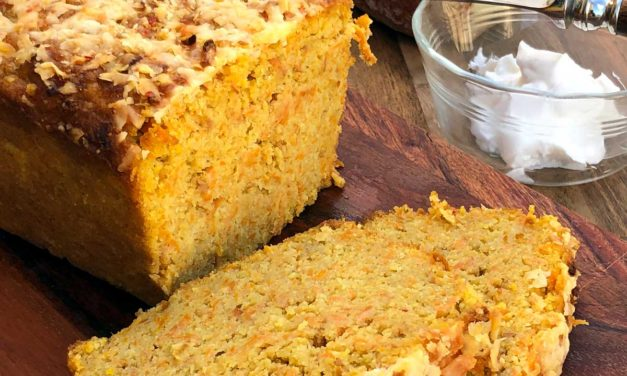 CARROT –  GOAT CHEESE BREAD